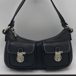 Burberry Small Black Leather Shoulder Bag ❤️❤️❤️❤️